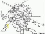 Ninja Turtles Coloring Pages Printable Online Coloring the Four Ninja Turtles Leonardo