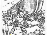 Noah S Ark and Rainbow Coloring Pages 57 Best Noah Images