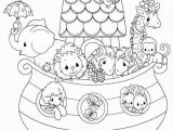 Noah S Ark Coloring Pages Printable Noah and the Ark Coloring Page 34 Best Party Noah S Ark