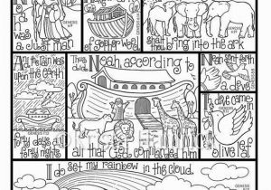 Noah S Ark Printable Coloring Pages Pin On Scripture Coloring Pages