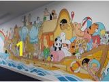 Noah S Ark Wall Mural Kit 8 Best Church Nursery Images