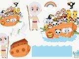 Noah's Ark Wall Mural Kit Story Noah039s Ark for Children Album Shopartstudio