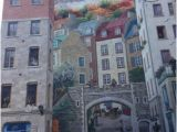Notre Dame Wall Murals La Fresque Des Quebecois Quebec City All You Need to Know before