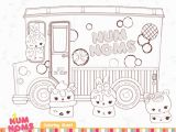 Num Nom Coloring Pages Black and White Free Num Noms Coloring Pages & Activities for Kids