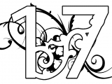 number-17-coloring-page-4