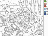 Number Coloring Pages for Adults Download This Free Color by Number Page From Favoreads Get