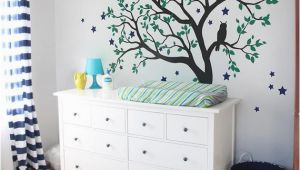 Nursery Tree Wall Mural Tree Wall Decals Baby Nursery Tree Wall Sticker with