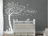 Nursery Wall Murals Uk Tree Wall Art Stickers Amazon