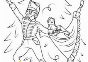 Nutcracker Ballet Coloring Pages Printable 160 Best Recolor Images