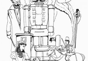 Nutcracker Ballet Coloring Pages Printable Nutcracker Coloring Pages Pinterest