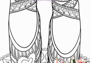 Nutcracker Ballet Coloring Pages Printable Printable Coloring Page Lovely Ballet Slippers Download and Color