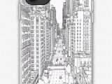 Nyc Coloring Pages for Kids Adult Coloring Pages New York iPhone Case by Yuna26
