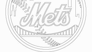 Nyc Coloring Pages for Kids New York Mets Logo Coloring Page From Mlb Category Select
