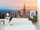 Nyc Skyline Wall Mural New York Skyline Wall Mural Home Decor