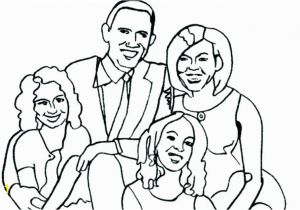 Obama Family Coloring Pages Barack Obama Coloring Page Chronicles Network