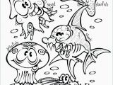 Ocean Coloring Pages for Preschoolers Free Printable Farm Animal Coloring Book Children Pages