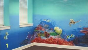 Ocean Mural Wall Decals the Barkalows Ocean Mural