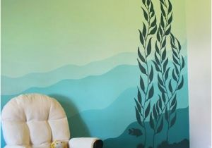 Ocean Murals Wall Decor My Underwater Kelp forest Mural On the Nursery Wall