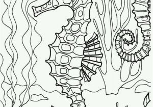 Ocean Scenes Coloring Pages Underwater Seahorse Coloring Page Adultcp Beachy Adult