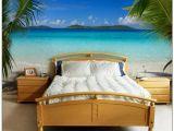 Ocean themed Wall Murals Love This Tropical Bedroom Mural Romantic Home Pinterest