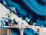Ocean Wall Mural Wallpaper Blue Agate 3 Wall Mural Wallpaper Surface In 2019