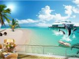 Ocean Wall Murals Cheap Custom Wall Mural Modern Art Painting High Quality Mural Wallpaper