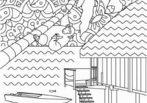 Ocean Waves Coloring Pages Creative Sights – Maldives