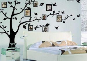 October Memories Wall Mural X Diy Family Tree Wall Art Stickers Removable Vinyl Black