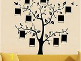 "October Memories Wall Mural Xxxl 165 6cm 188cm Frame Tree Memory Tree""our Family is"