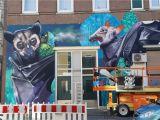 October Memories Wildlife Wall Mural Pow Wow 2019 Recap