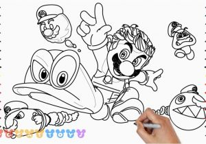 Odysseus Coloring Pages 25 Beautiful Mario Odyssey Color Pages