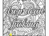 Offensive Curse Word Color Pages 9 Best Swearing Coloring Book Images