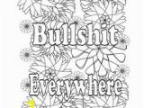 Offensive Curse Word Color Pages Rude Coloring Pages