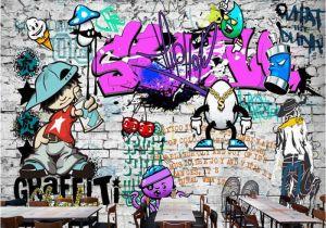 Office Wall Mural Ideas Afashiony Custom 3d Wall Mural Wallpaper Fashion Street Art