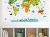 Oh the Places You Ll Go Wall Mural 13 Best World Map for Wall Images