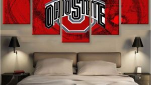 Ohio State Football Wall Murals Hd Printed Limited Edition Ohio State 5 Piece Canvas