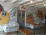 Ohio State Stadium Wall Mural Bagel Face Bakery Nashville Menü Preise & Restaurant