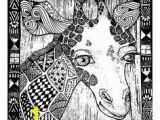 Okapi Coloring Page 384 Best Coloring Images