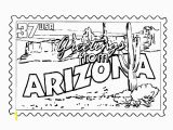 Oklahoma State University Coloring Pages Usa Printables Arizona State Stamp Us States Coloring Pages