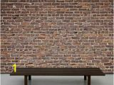 """Old Brick Wall Murals Old Brick Wall"""" A Wallpaper Mural From Muralunique"""
