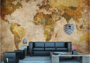 Old World Map Wall Mural Vintage World Map Wall Mural In 2019 Dorm Stuff
