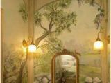 Old World Wall Murals 15 Best Powder Room Images
