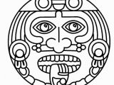 Olmec Coloring Pages Aztec Coloring Pages for Kids