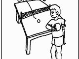 Olympic Swimming Coloring Pages Olympic Ping Pong Coloring Page Kids Activities