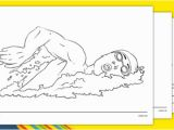 Olympic Swimming Coloring Pages the Olympics Swimming Colouring Sheets Swimming Olympics