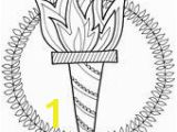 Olympic torch Coloring Page 52 Best Ancient Greece Images On Pinterest