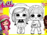 Omg Doll Coloring Pages Lol Surprise Dolls Repainted as Strawberry Shortcake & Friends orange Blossom Lol Surprise Coloring