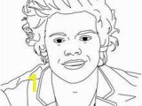 One Direction Coloring Pages Harry Styles Coloring Page Coloring Page Famous People