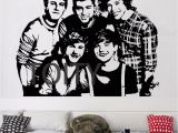 One Direction Wall Mural Us $11 99 Off E Direction Naklejka Na Plakacie Angielsko Irlandzki Pop Boy Band 1d Winylowa Tablica Naścienna Pasek Dekoracyjny Klub Akademik