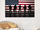 One Piece Wall Murals 2019 Canvas Hd Prints Poster Home Decor Framework Pcs American Flag with sol Rs Paintings for Living Room Wall Art From Kittyfang $27 73